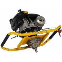 Talajfúró, földfúró, lyukfúró, benzines 2 személyes, 4 ütemű Lumag EB 400 Pro