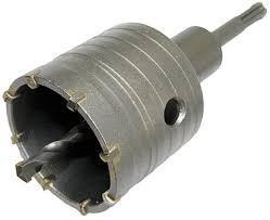 Dobozfúró d= 65 mm, villanykapcsolóhoz, konnektorhoz SDS-Plus