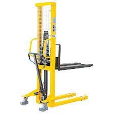 Raklapemelő, magasemelésű béka SDJ 1000 1000 kg teherbírással.